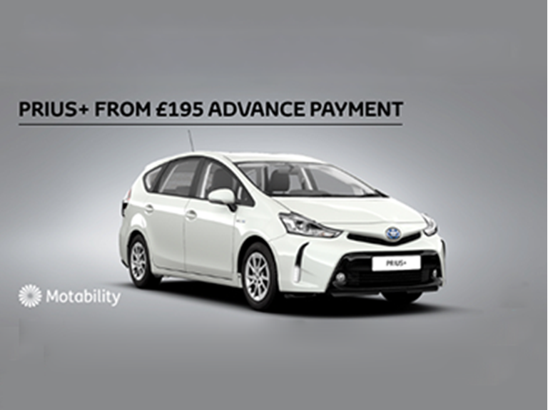 Prius Plus Motability Offer