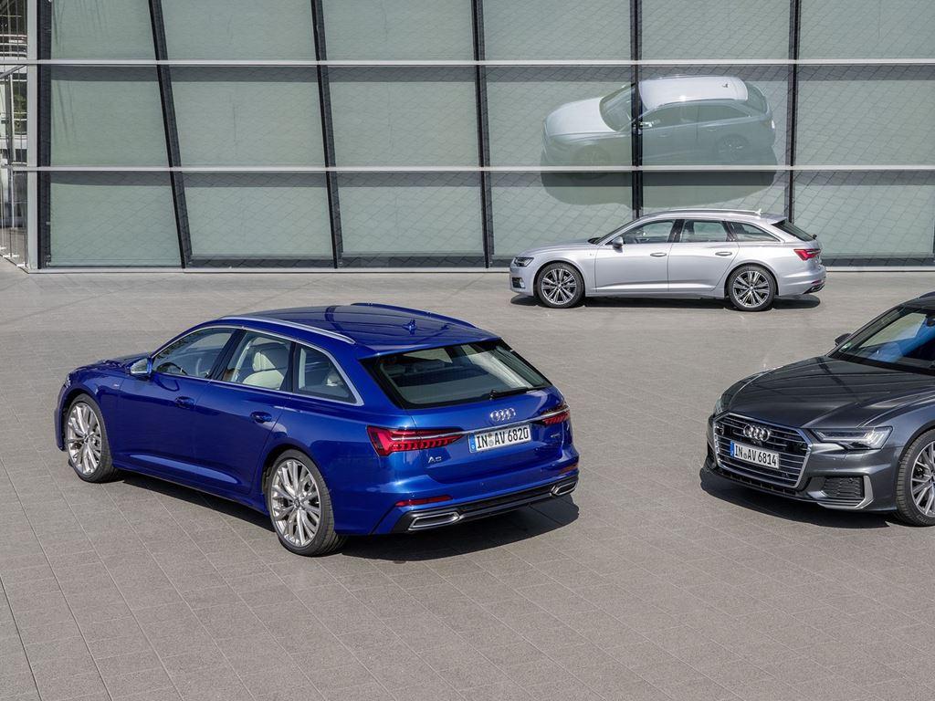 3 parked A6 Avants