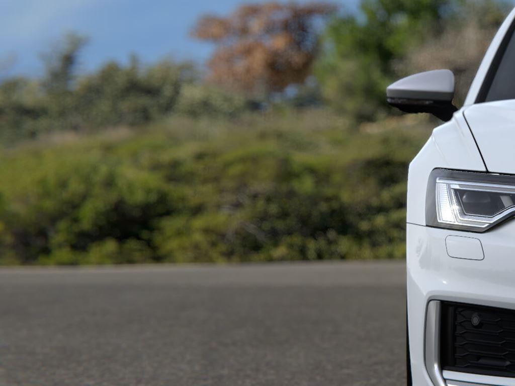 White S6 Avant Front Grille