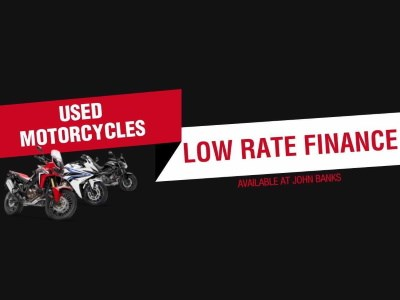 Honda Motorcycles - Used Low Rate Finance on Used Bikes