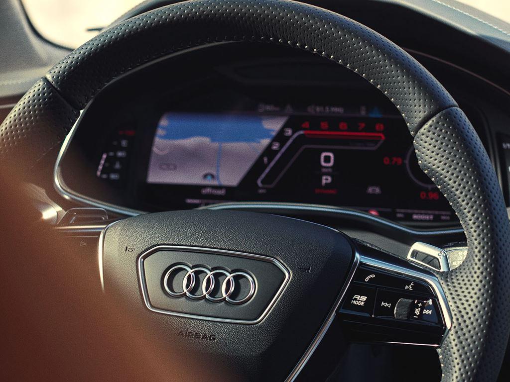 RS6 Avant Steering wheel