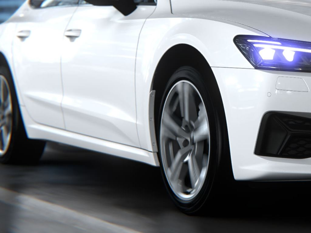 A7 Sportback in white