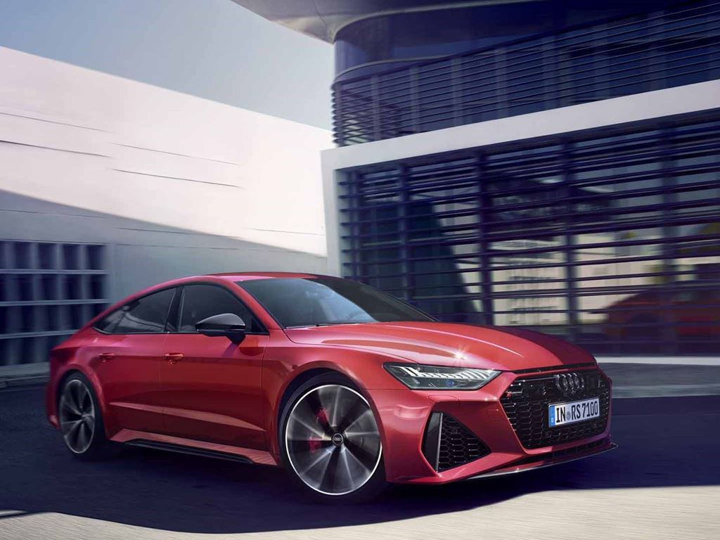 Red RS 7 Sportback