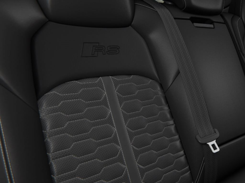 RS 7 Sportback Rear seats