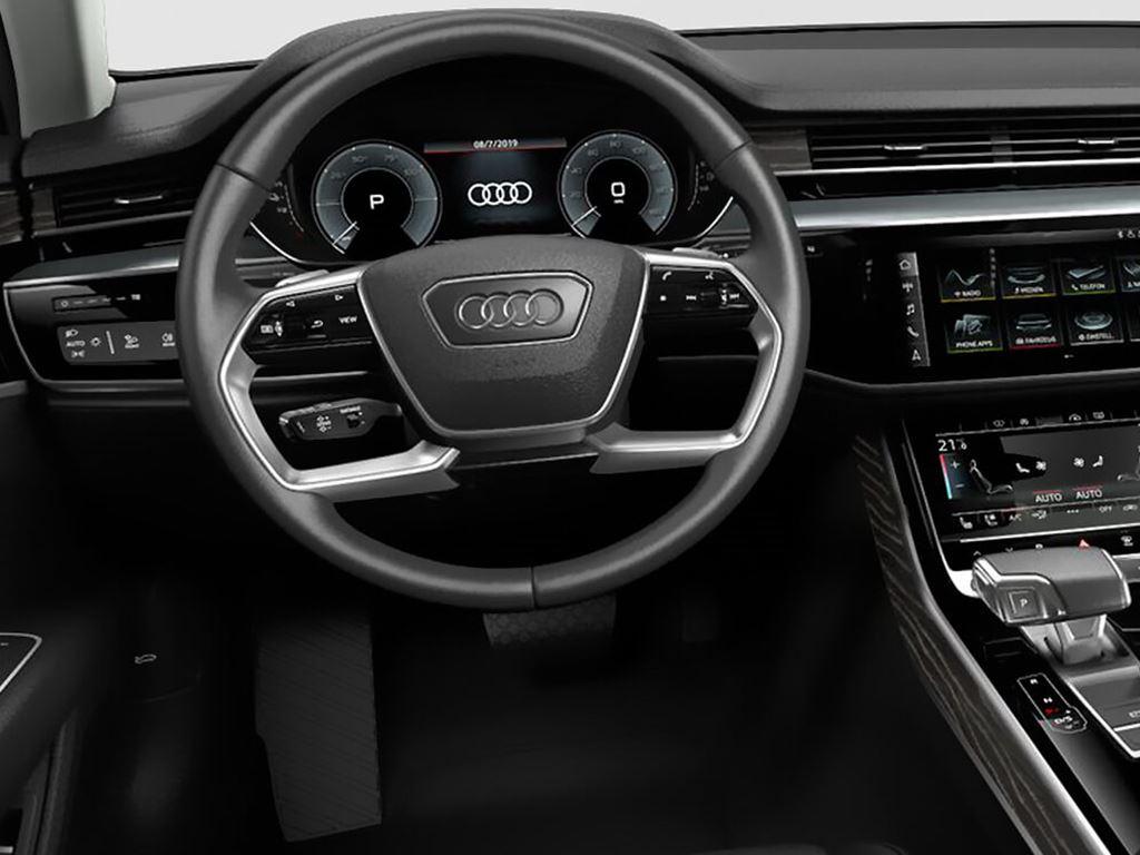 A8 TFSI e steering wheel