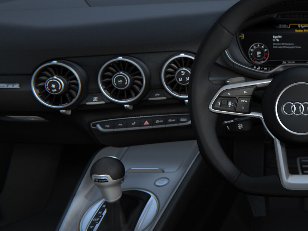 TT Coupe front wheel and dash