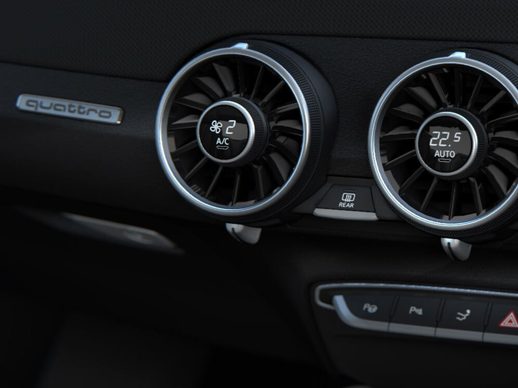 TTS Coupe air vents