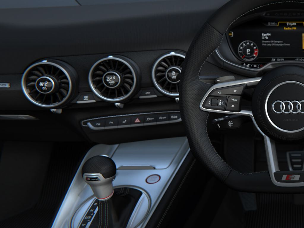 TTS Coupe steering wheel