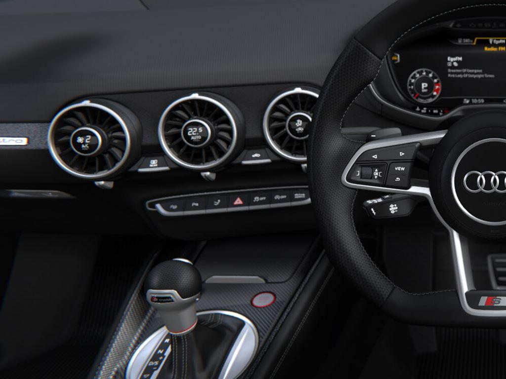 TTS Roadster steering wheel