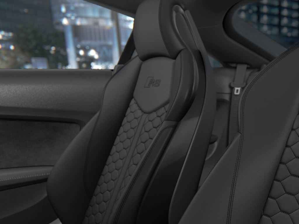 TT RS Coupe Interior  Seats