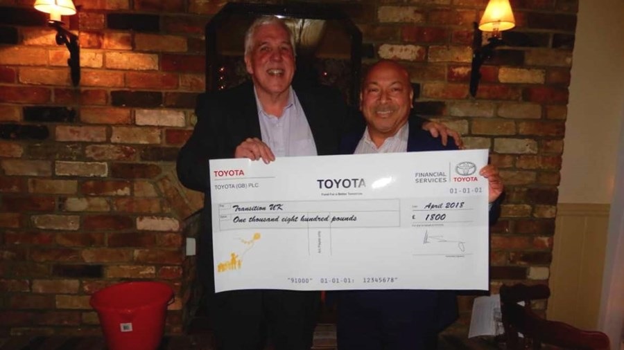 Transitions UK Secure Toyota Funding