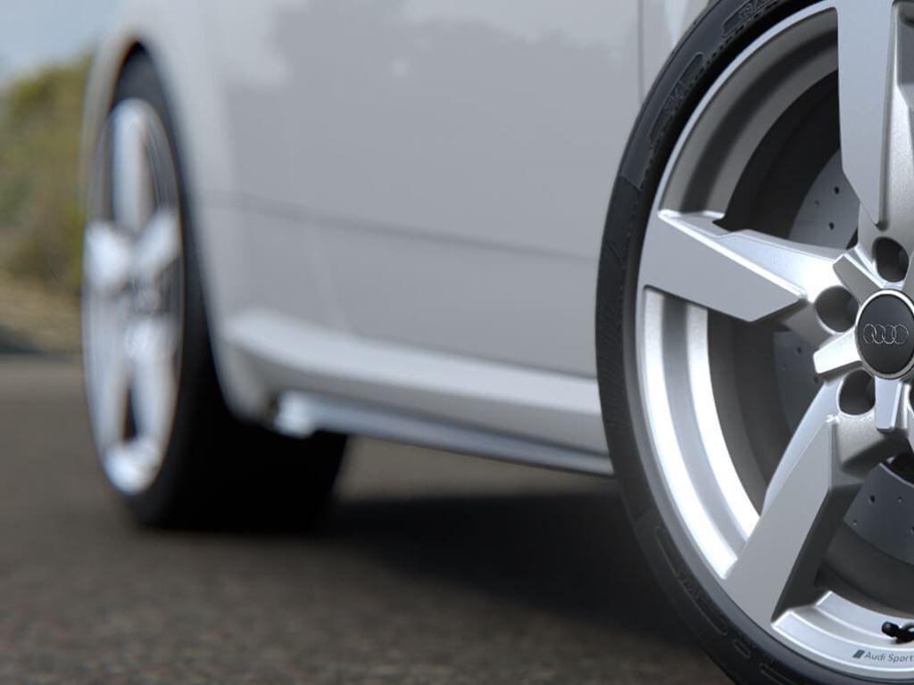 TT RS Roadster alloys