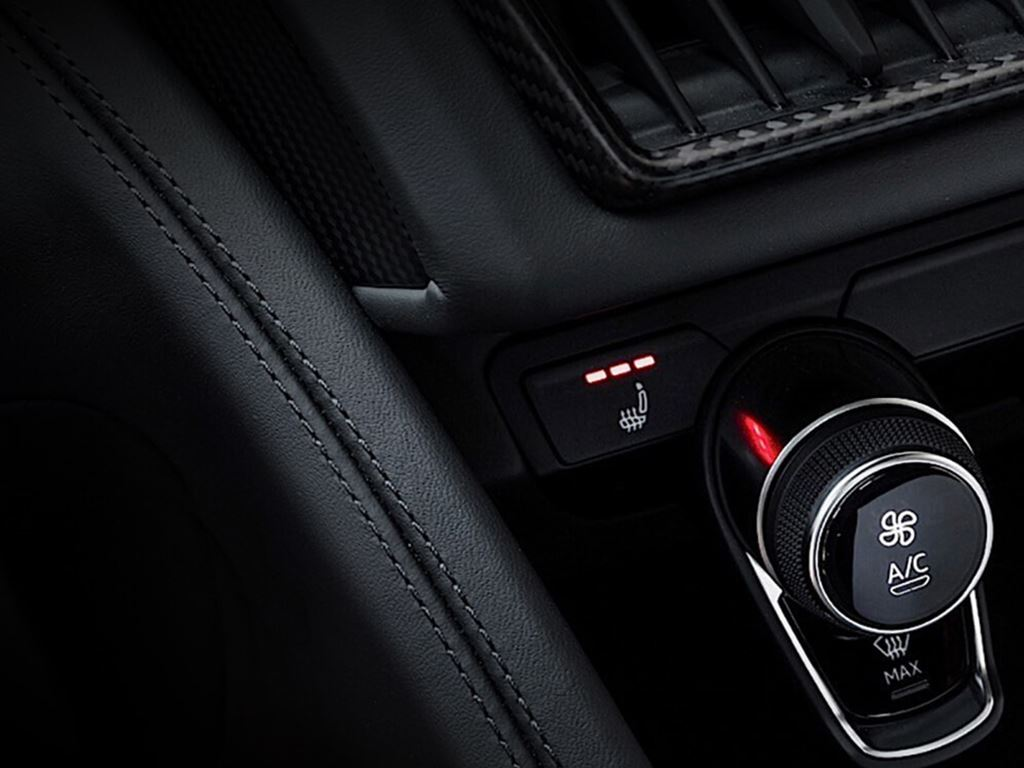 R8 Coupe Climate Control
