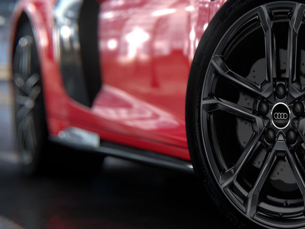 R8 Spyder alloys