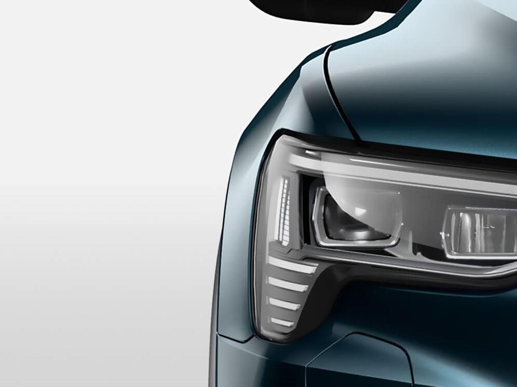 e-tron front headlight