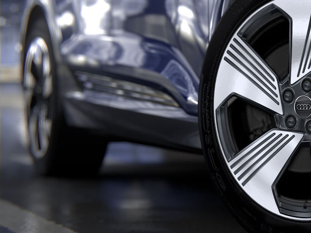e-tron Sportback alloy