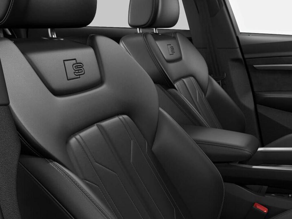 e-tron Sportback front seats