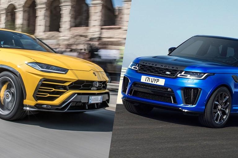 Range Rover Sport SVR vs Lamborghini Urus