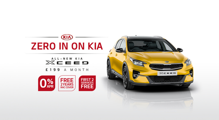 All-New Kia XCeed with 0% APR - from £199 per month