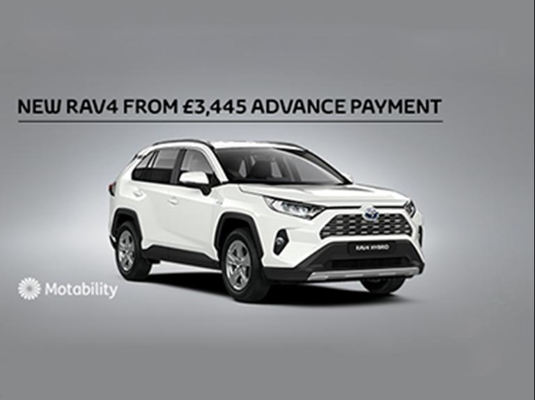 RAV4 Motability Offer