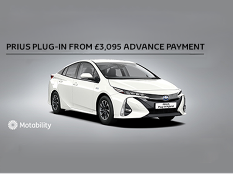 Prius Plug-in Motability Offer