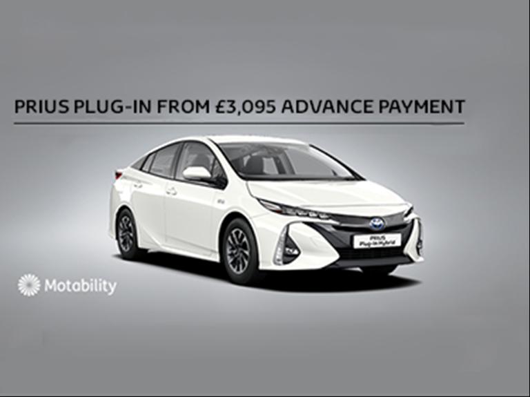 Prius Plug-in Motability Offer