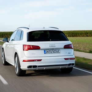 New Audi Q5 TFSI e