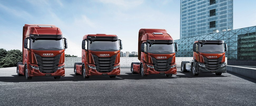 New IVECO S-WAY heading to North East Truck and Van