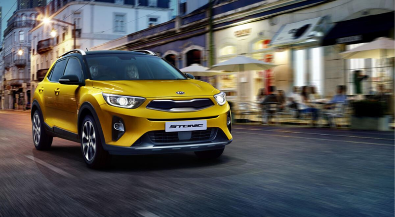 Kia Stonic with up to £1750 deposit contribution