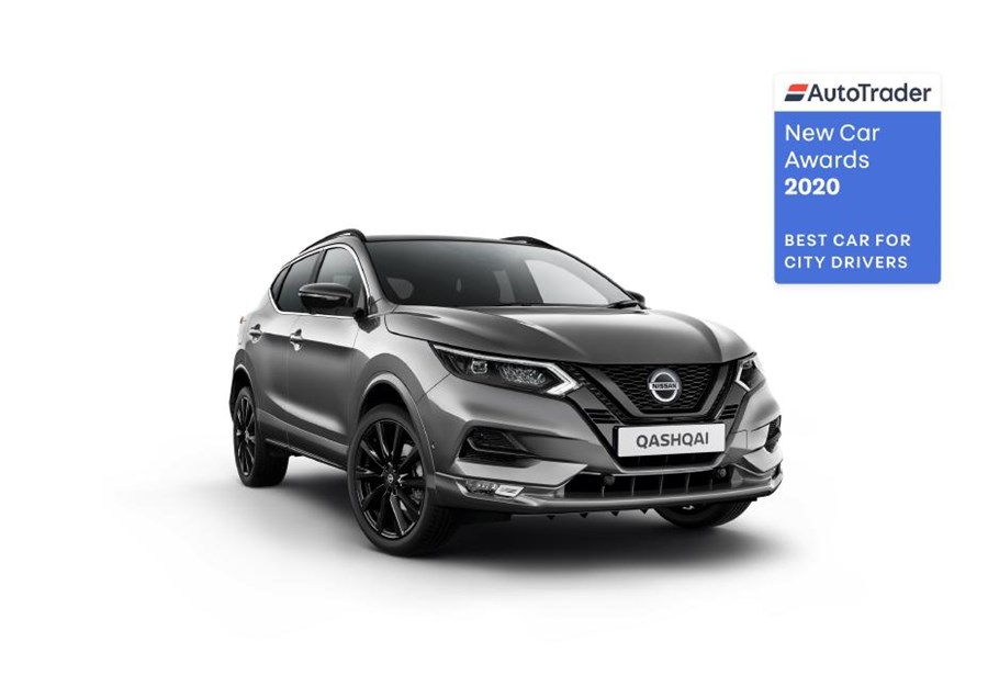 Nissan Qashqai named 'Best Car for City Drivers' in AutoTrader New Car Awards 2020