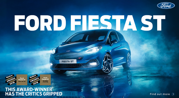Ford Fiesta ST from only £245 per month with 2.9% APR