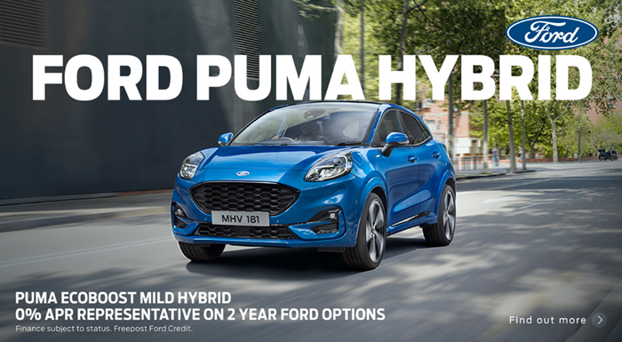 New Ford Puma from only £260 per month with 0% APR