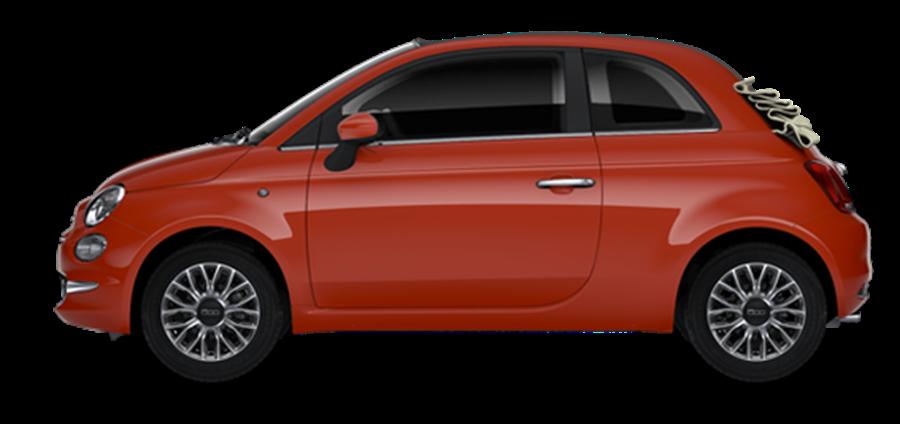 Fiat 500C Lounge 1.0 70hp Mlid Hybrid