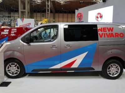 Vauxhall scoop three awards at the annual Trade Van Driver's awards