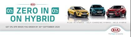 Zero Kia Hybrid Range