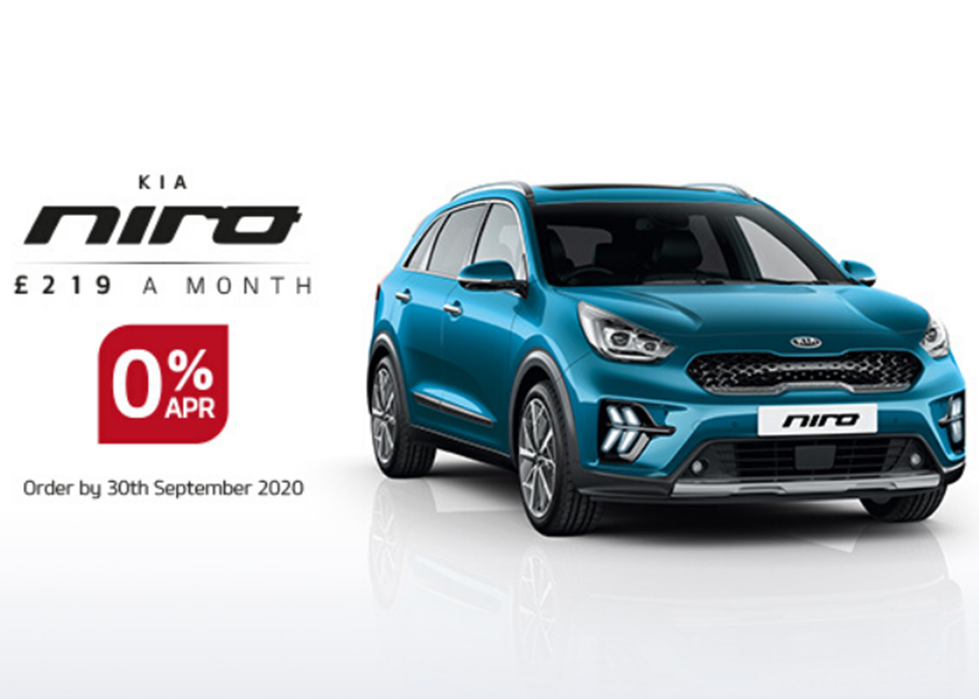 Kia Niro with 0% APR at Chippenham Motor Company