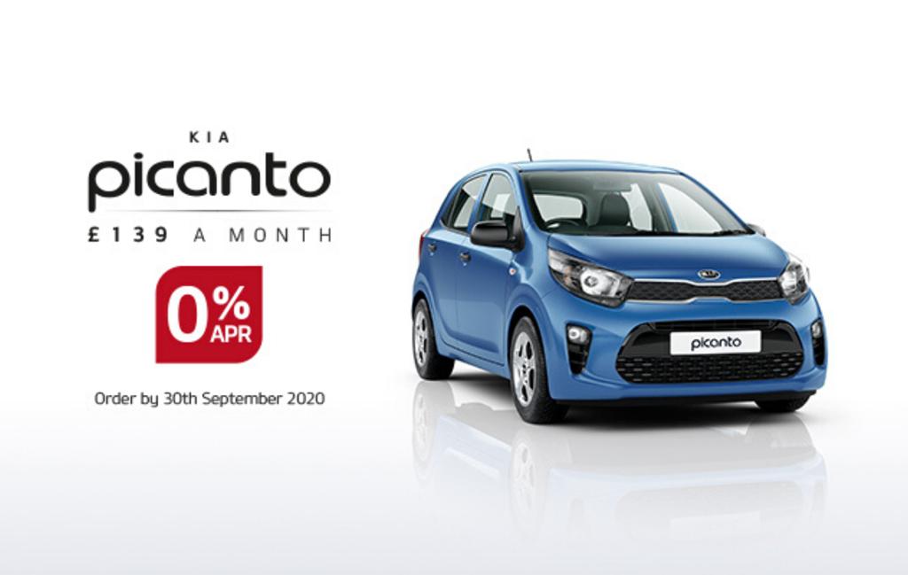 Kia Picanto with 0% APR at Chippenham Motor Company