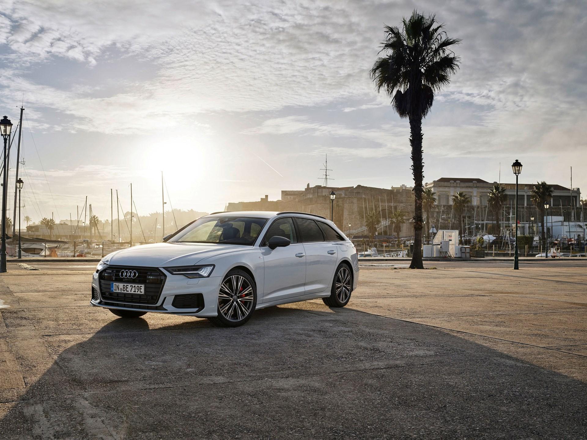 New Audi A6 TFSI e