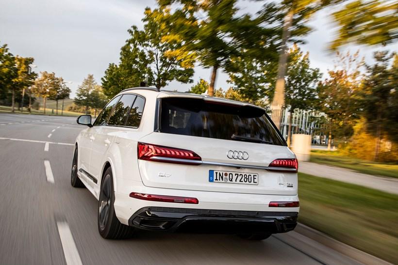 New Audi Q7 TFSI e
