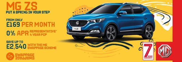 MG ZS Offer
