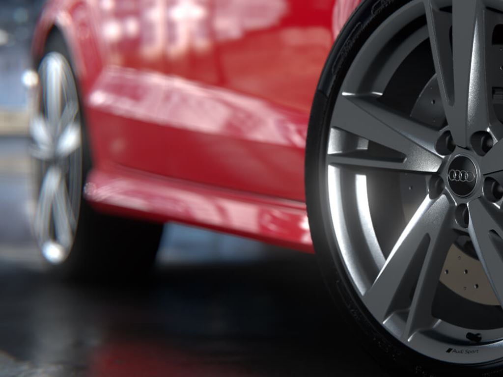 RS 3 Saloon alloy wheels