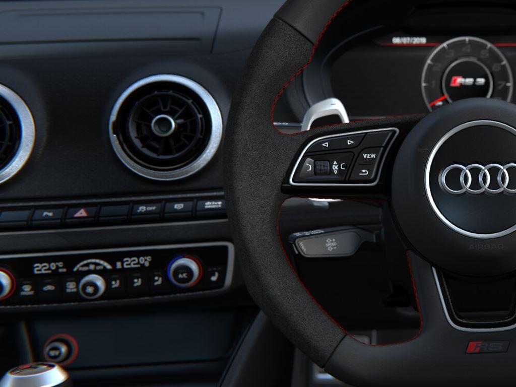 RS 3 Saloon Steering Wheel