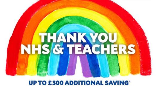 Thank you NHS & Teachers