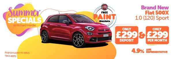 Summer Special Fiat 500X 1.0 (120) Sport