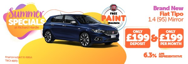 Summer Special Brand New Fiat Tipo 1.4 Mirror