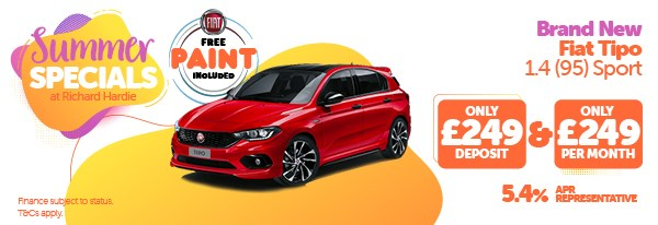 Summer Special Brand New Fiat Tipo 1.4 Sport