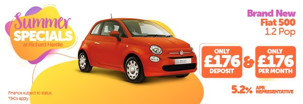 Summer Specials Brand New Fiat 500 1.2 Pop
