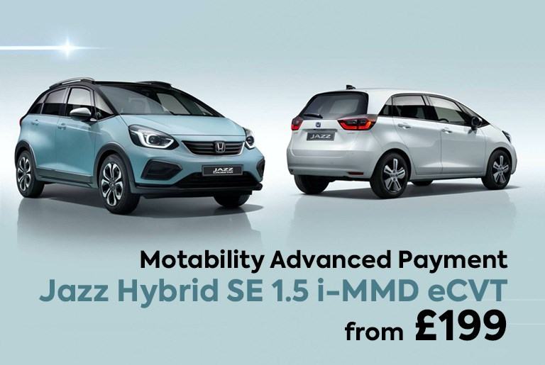 Jazz Motability £199 Advance