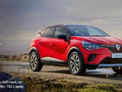 The All New Captur - Offers