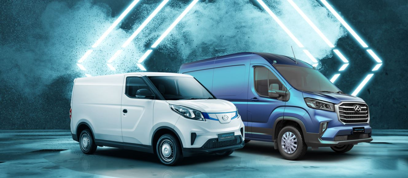 New full Maxus range available at North East Truck and Van